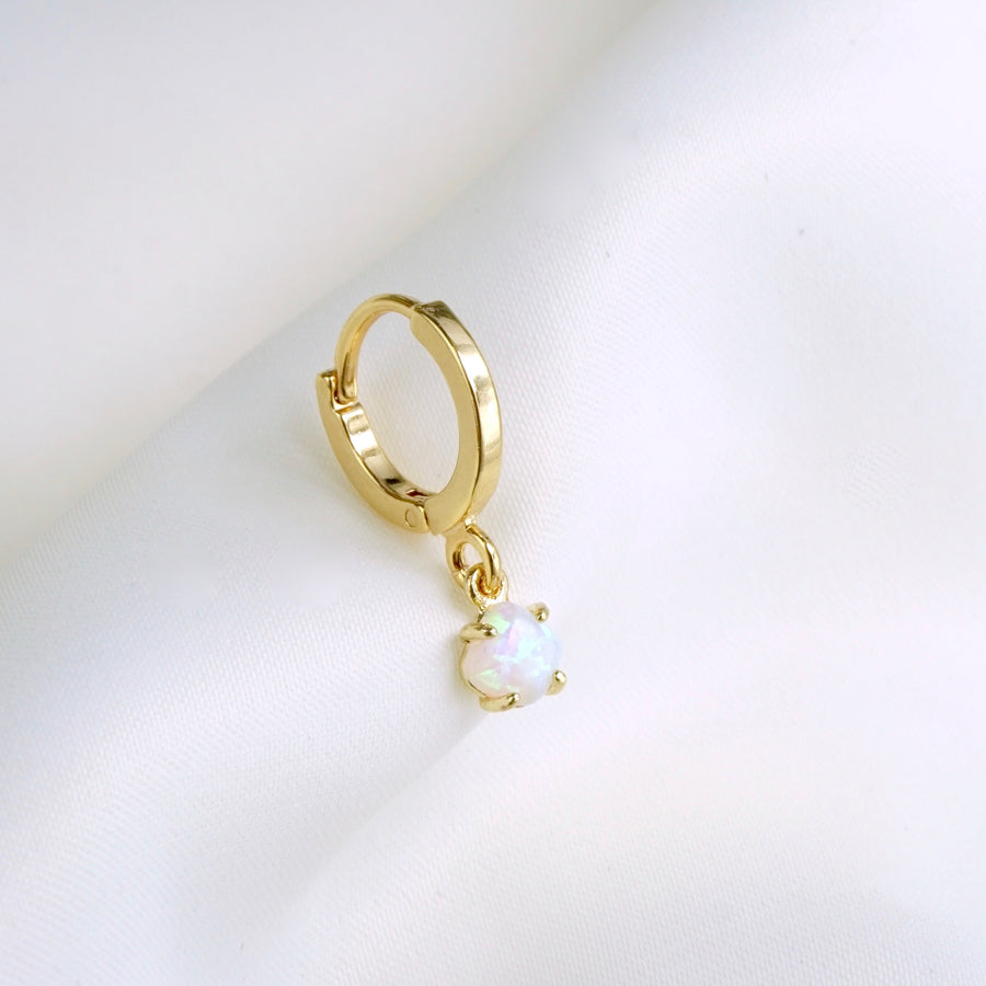 Small Opal Earring