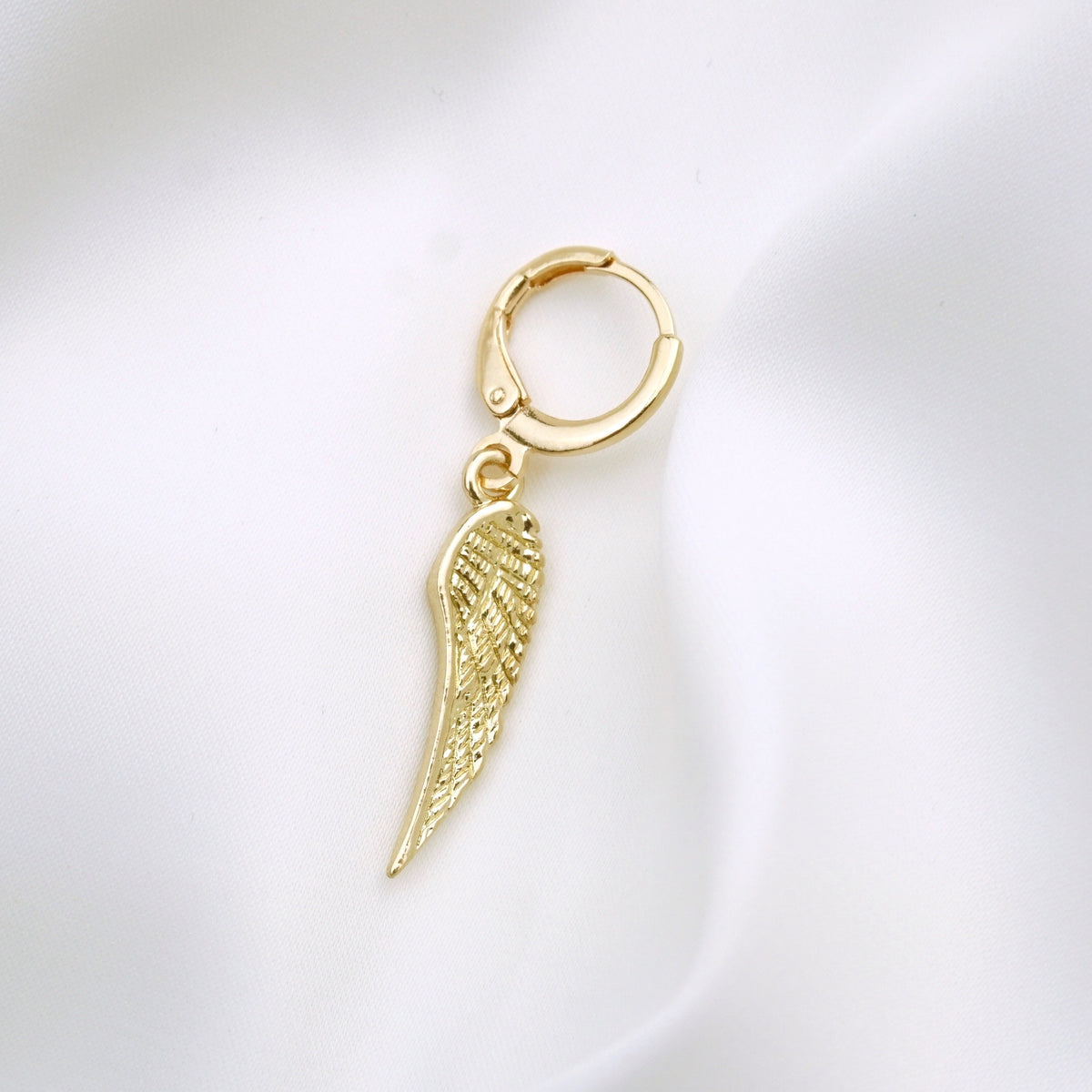 Golden Wing Earring