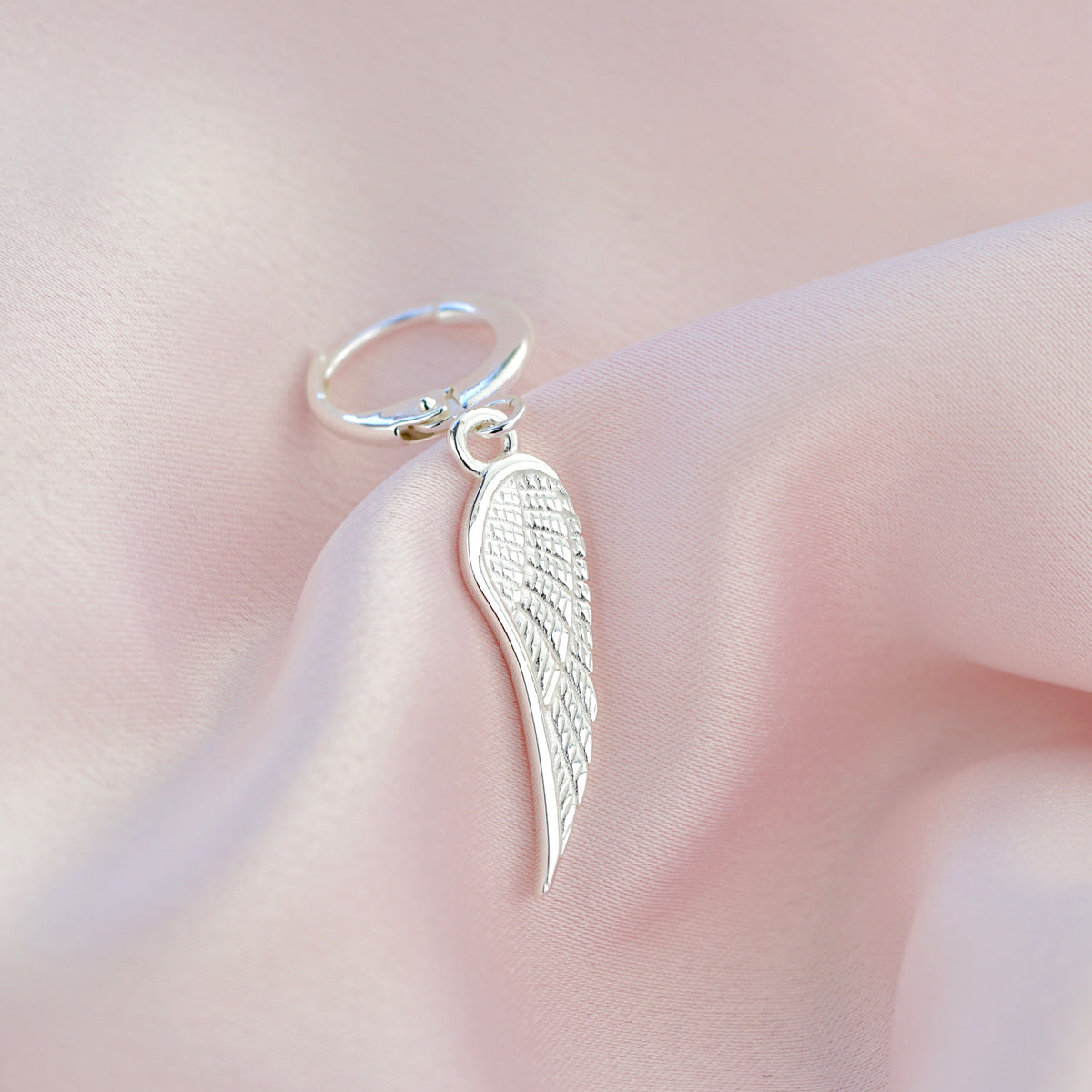 Sterling Silver Wing Earring