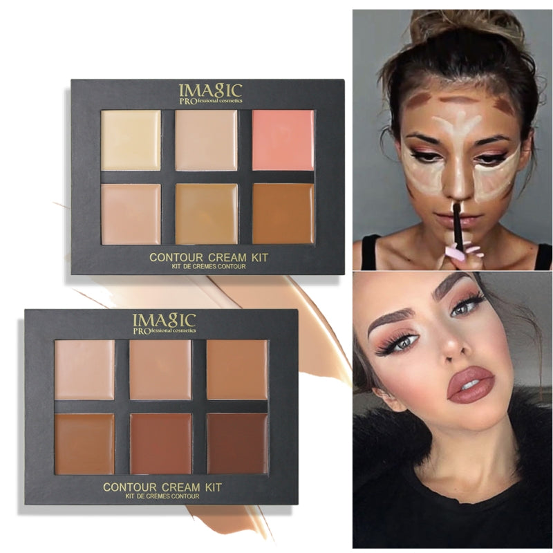 Contour Face Palette (6 Colors)