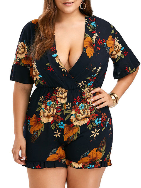 Sexy Deep V Rompers