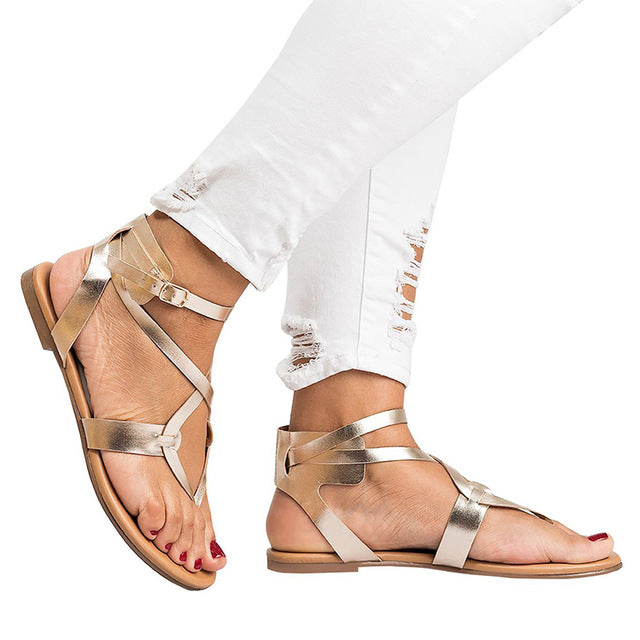Flat Casual Gladiator Sandals