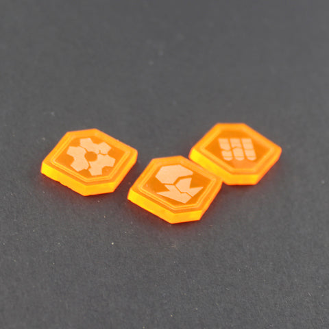 Vehicles LEGION tokens