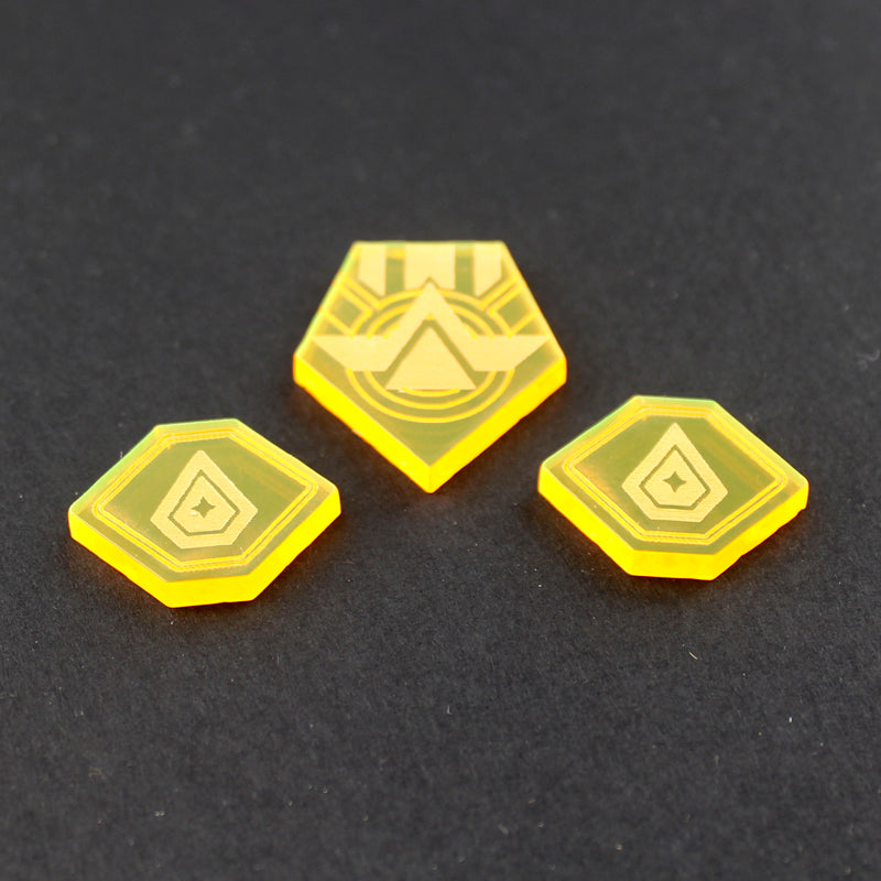 Comander and Panic LEGION tokens