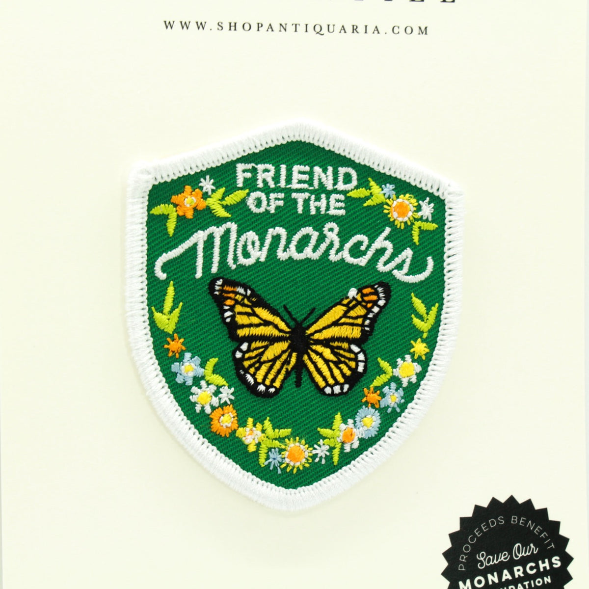 Friend of the Monarch Patch