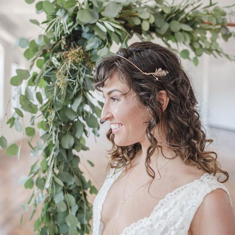 Boston Fern Goddess Headband