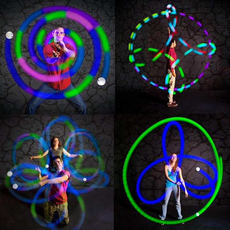 Spinballs LED Rechargeable Poi