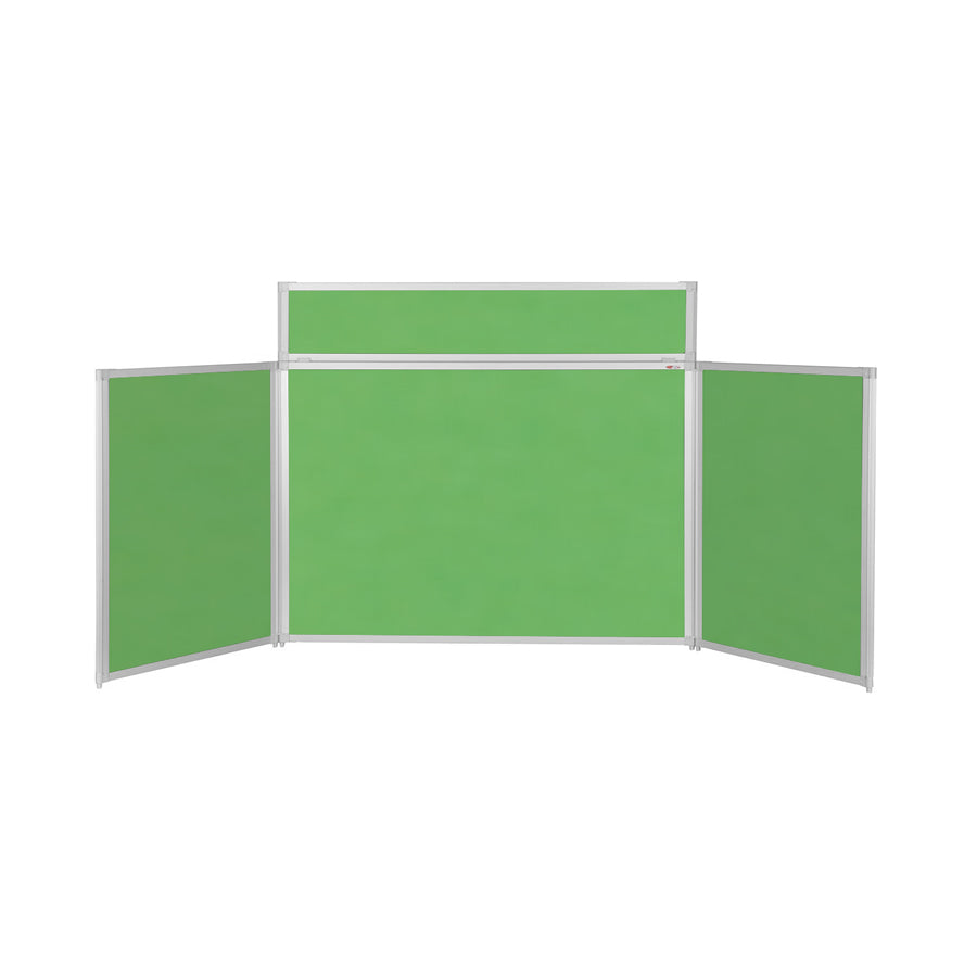 BusyFold® Heavy Duty Tabletop Display - 900mm x 2000mm - Apple Green