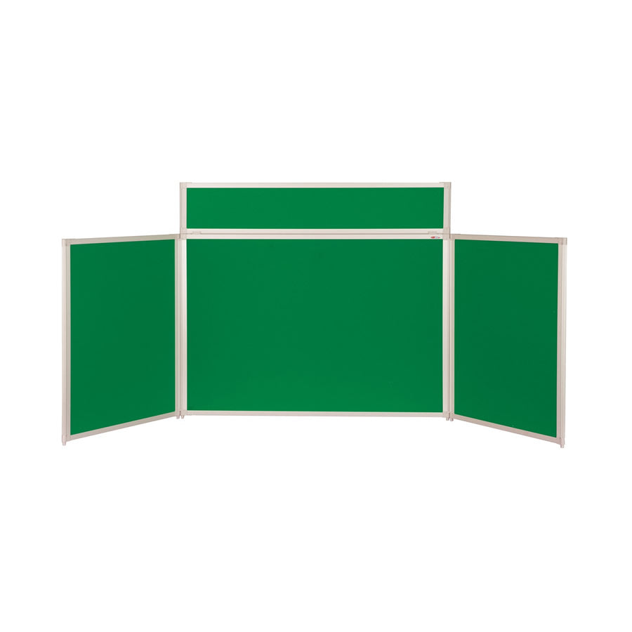 BusyFold® Heavy Duty Tabletop Display - 900mm x 2000mm - Emerald