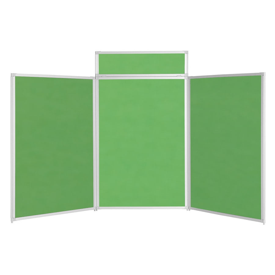 BusyFold® Heavy Duty Tabletop Display - 1200mm x 2100mm - Apple Green