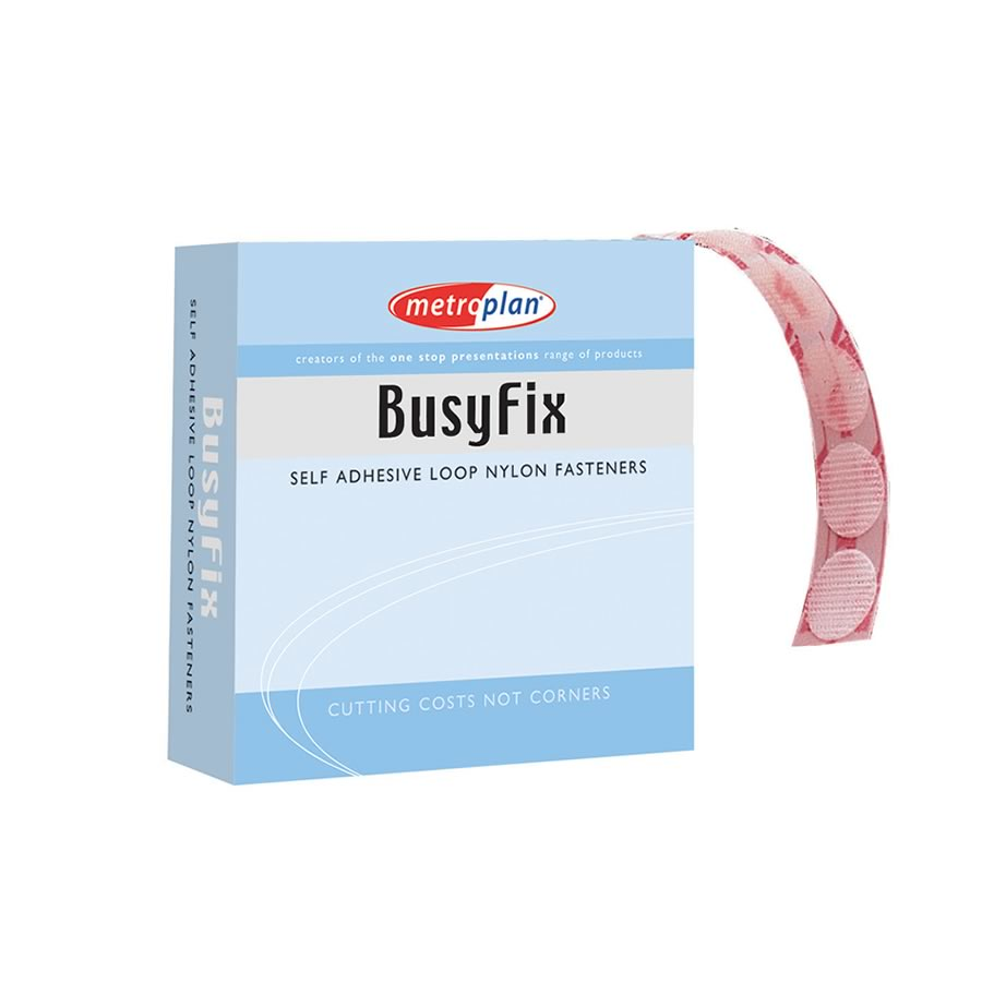 Busyfix Self Adhesive Coins - Pack of 100