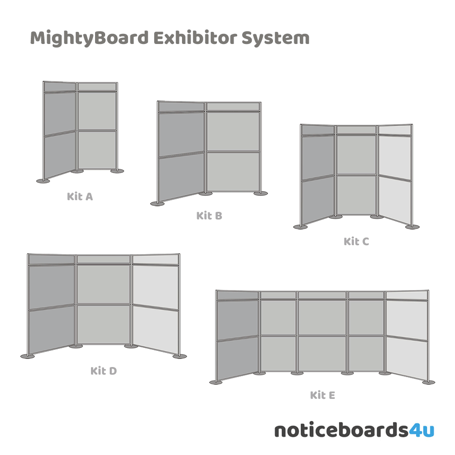 MightyBoard Exhibitor System