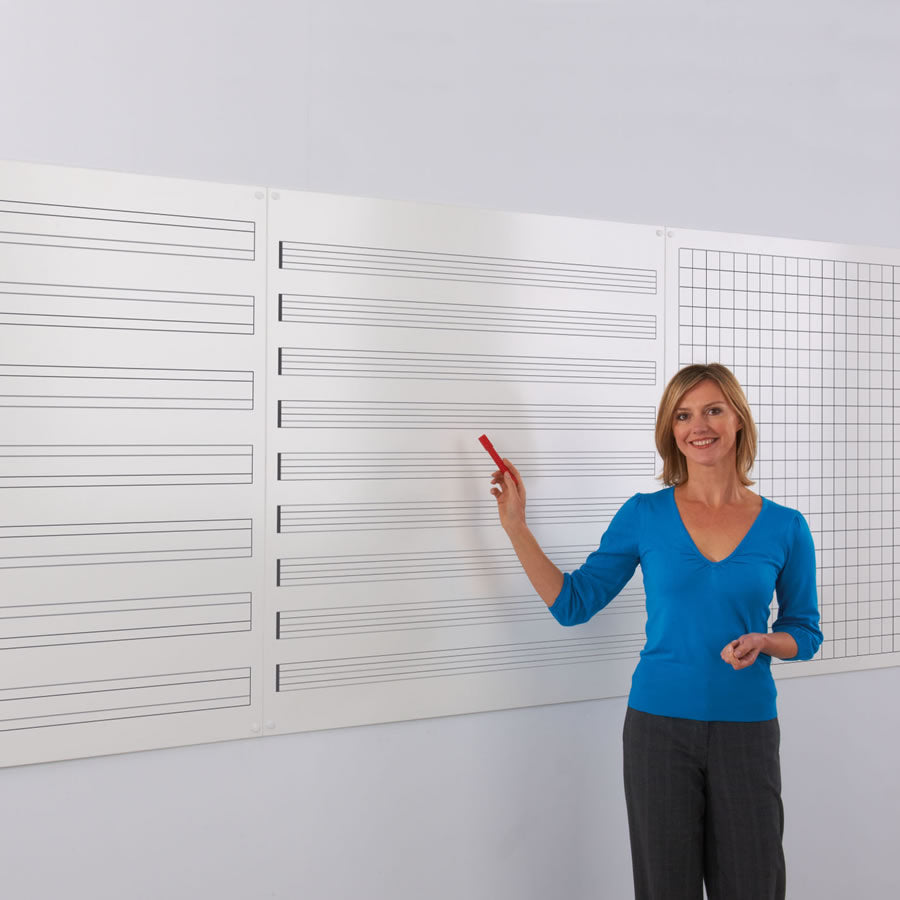 WriteOn® Printed Modular Whiteboards