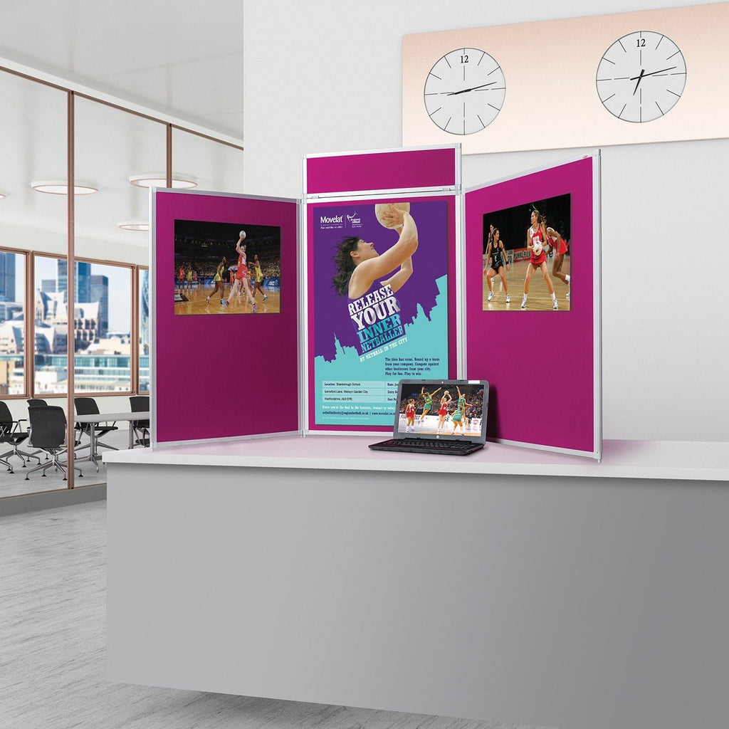 BusyFold® Heavy Duty Tabletop Display