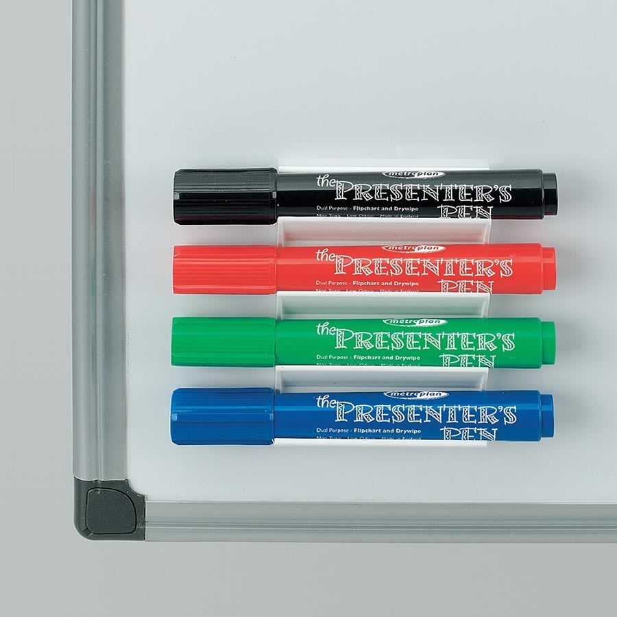 Whiteboard Pen Holder - including Markers