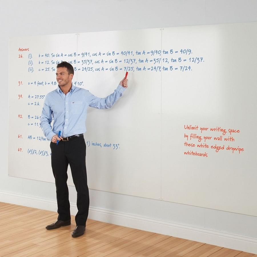 WriteOn® Whiteboard Wall