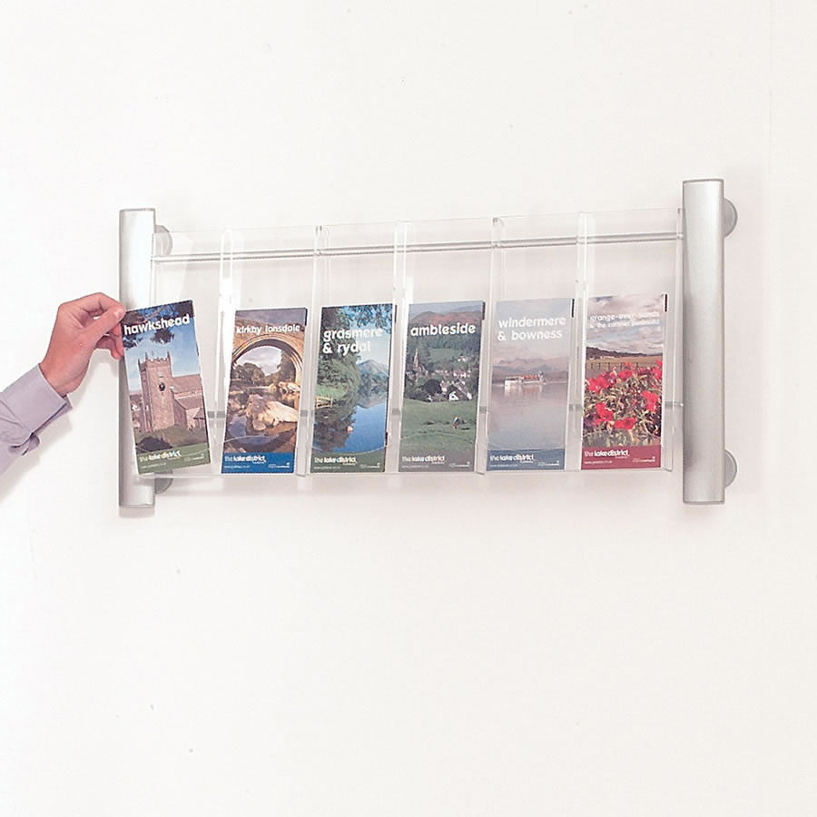 Crest Wall Mounted Literature Dispensers