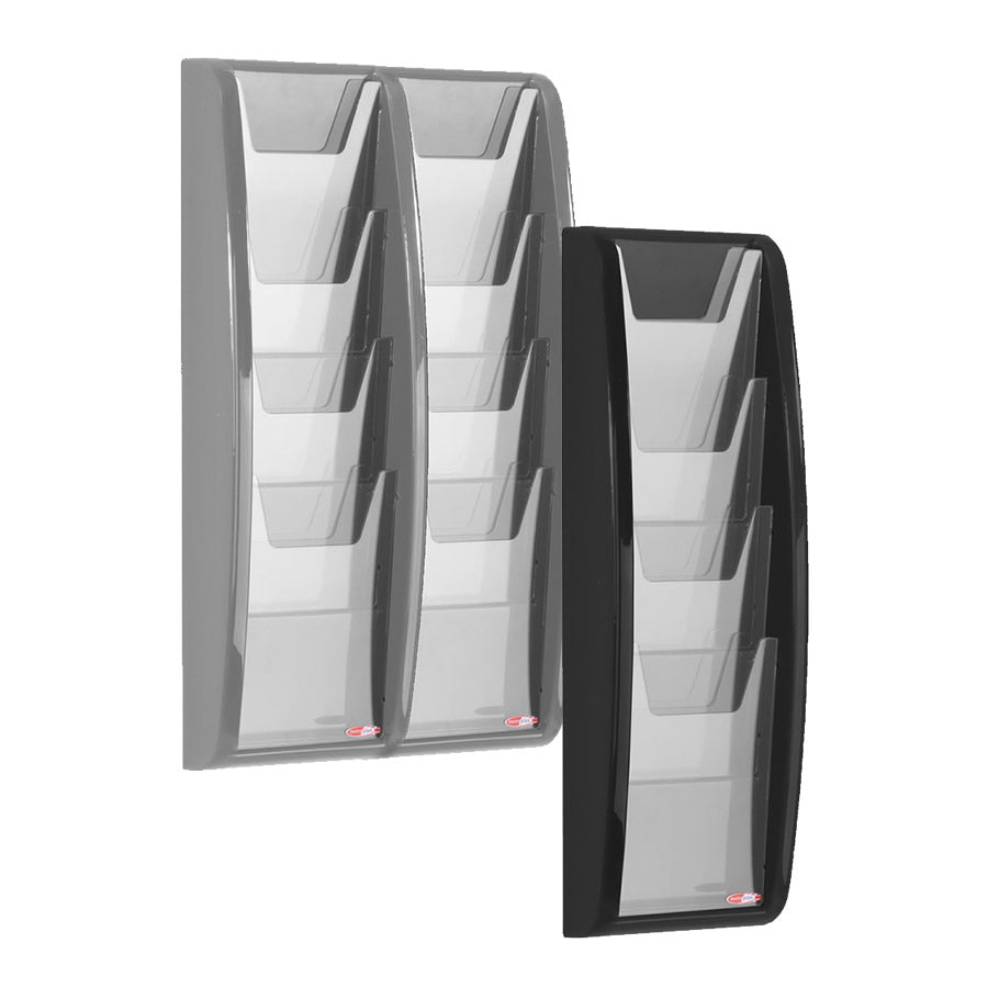 A5 Panorama Leaflet Dispenser - 4 and 8 Pocket