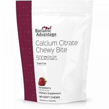 Load image into Gallery viewer, Calcium Citrate Chewy Bites 500mg