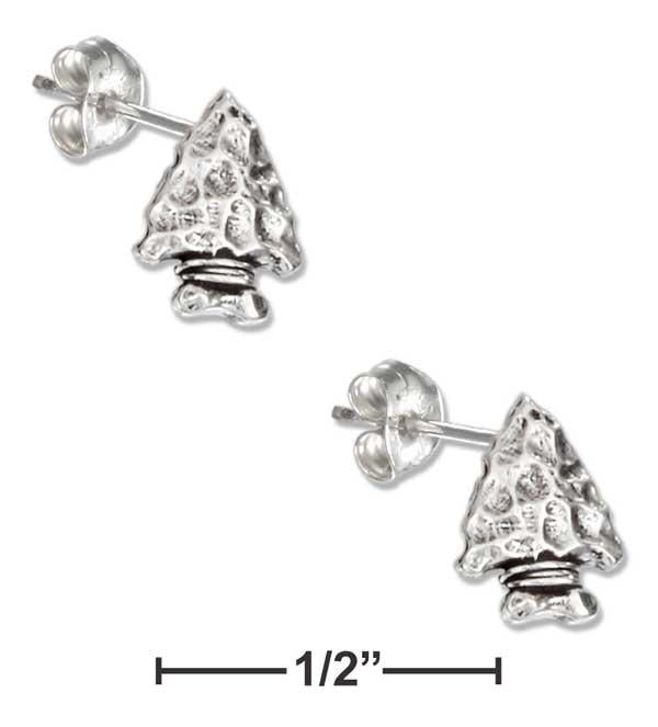 Sterling Silver Mini Dragonfly Earrings on Stainless Steel Posts and Nuts