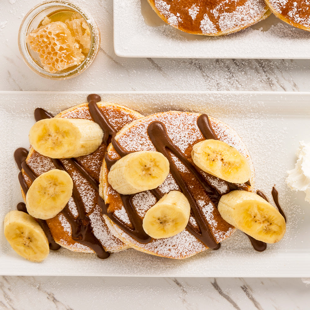 Banana Chocolate Pancake