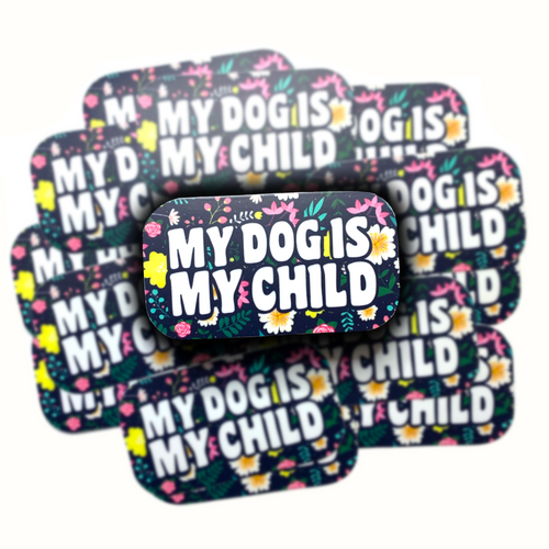 My Dog is My Child Sticker