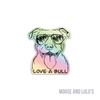 Love-a-bull Holo Sticker