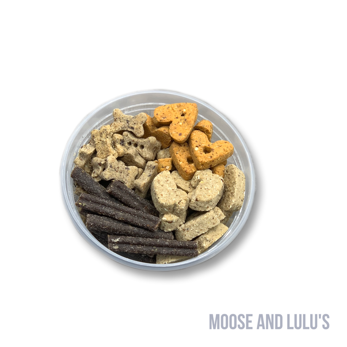 Treat Sampler! (Choose up to 4 Flavors) - Moose and Lulu's