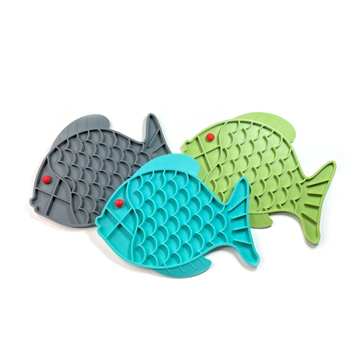 Large Fish Lick Mats - Moose and Lulu's