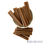 Pumpkin Dog Chews - Moose and Lulu's