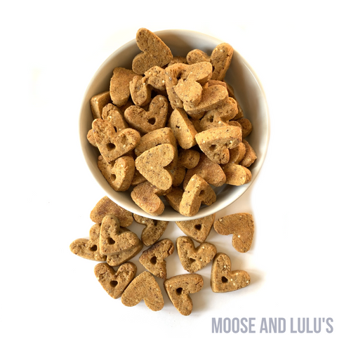 Grain Free Cheese and Bacon Treats - Moose and Lulu's