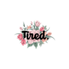 Tired Flower Sticker