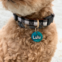 Load image into Gallery viewer, Heart Confetti Small Dog Tag - Moose and Lulu's