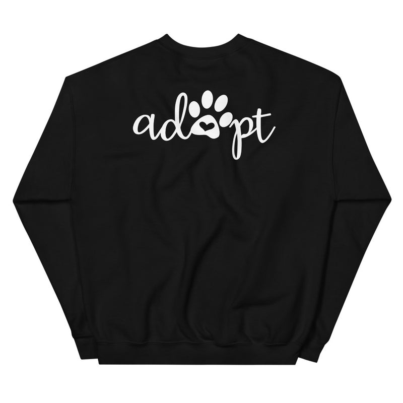 Foster Mom (Adopt on the back) Sweatshirt - Moose and Lulu's