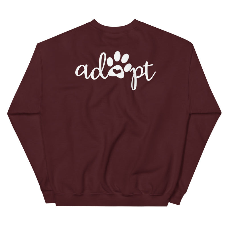 Foster Mom (Adopt on the back) Sweatshirt