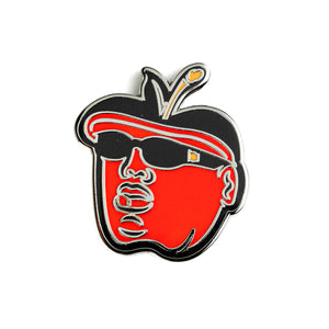 Notorious Big(gie) Apple Pin