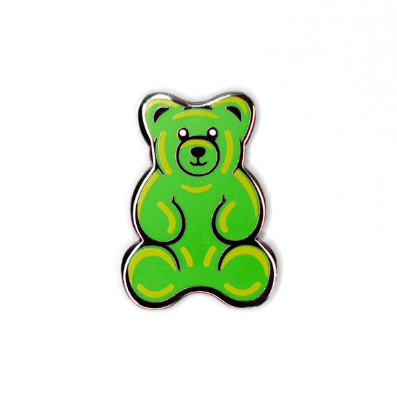 Green Gummy Pin