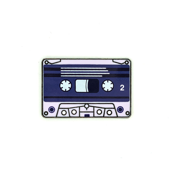 Purple Tapes Pin