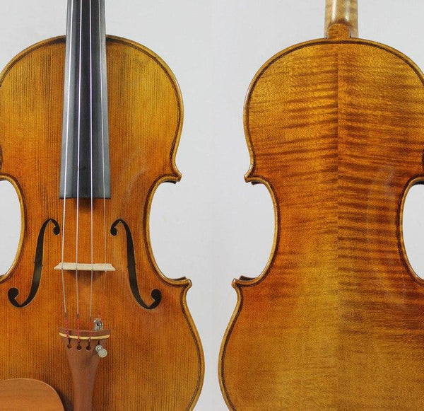 "Special offer!!!Guarneri 1743 Cannon 4/4 Violin violino Powerful tone! ""All European Wood"" FREE SHIPING!Professional Sound!"