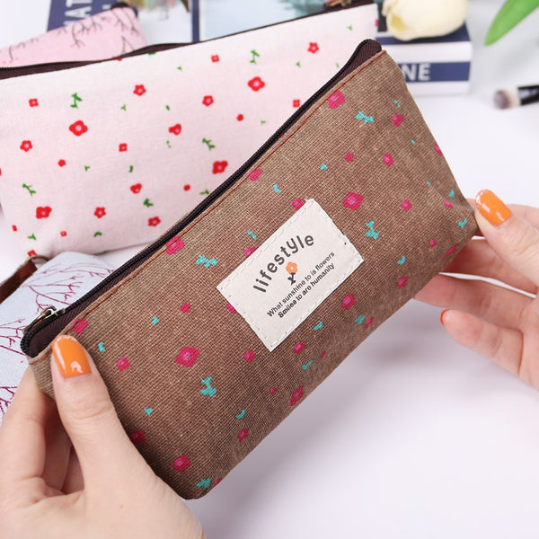2019 Beautician Vanity Necessaire Beauty Women Travel Toiletry Make Up Makeup Case Cosmetic Bag Organizer Pouch Purse Bag