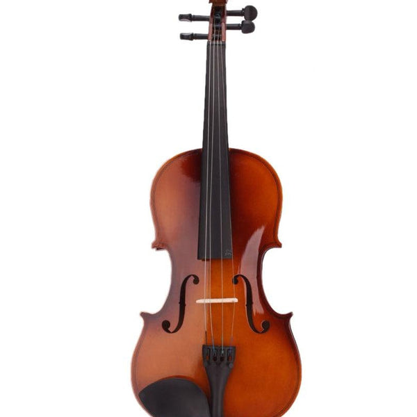 SEWS 4/4 Full Size Natural Acoustic Violin Fiddle with Case Bow Rosin