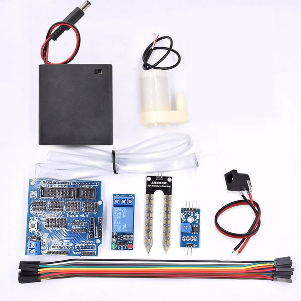 Free shipping Automatic irrigation module DIY kit soil moisture detection automatic water pumping