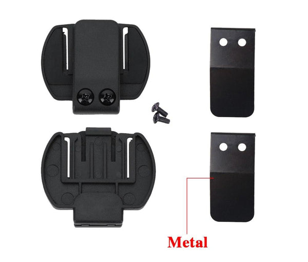 2 PCS Fodsports V6 1200 Helmet Headset Clip Motorcycle helmet intercom Clip Motorcycle Bluetooth Intercome Bracket Accessories