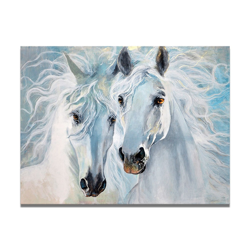 Horse Lovers No Frame Canvas Art Home Decoration Design Idea Living Room Wall