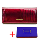 Everything.Bargains beth cat women genuine leather wallet female hasp alligator cowhide long wallet cards holder clutch bag fashion ladies