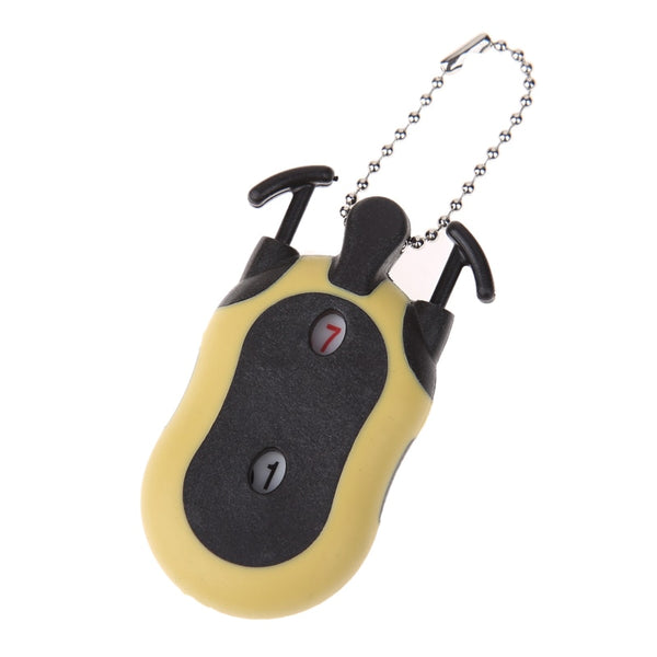 Hot Sale Handy Mini Golf Stroke Shot Putt Score Counter Tally Keeper with Key Chain Golf Score Indicator Scoring Device