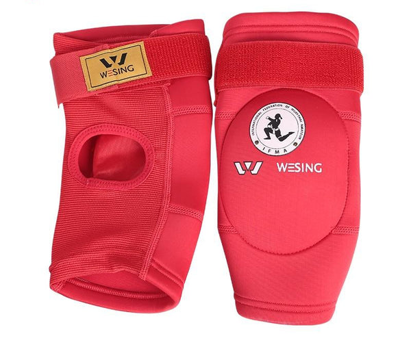 Wesing free shipping IFMA Approved muay thai elbow pads sanda arm pads elbow pad covers knee an elbow pads taekwondo karate