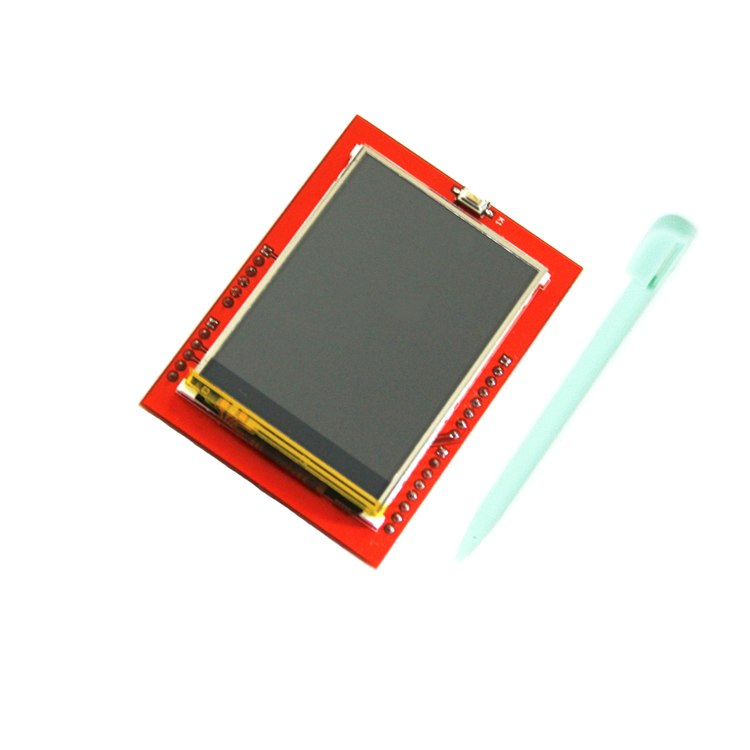 Free shipping! LCD module TFT 2.4 inch TFT LCD screen for arduino UNO R3 Board and support mega 2560