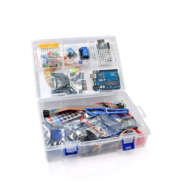 UNO Project Super Rfid Starter Kit with Lessons CD, Relay, UNO R3, HC-SR04, SG90 Servo, ect. for UNO R3 Learning Starters