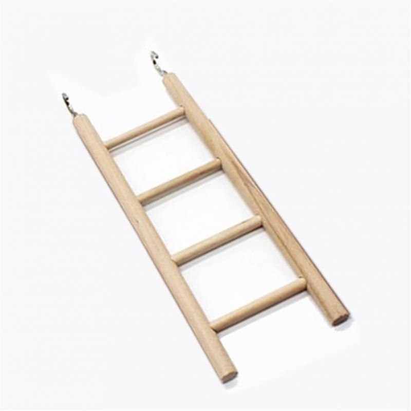 Everything.Bargains bird toys wooden ladders rocking scratcher perch climbing stairs hamsters bird cage parrot pet toys supplies